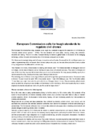 02. EC Press Release – Call for Tough Standards To Regulate Civil Drones 140408