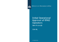 09. CAA – Netherlands – Initial Operational Approval of RPAS Operators, by Gert Kruiswijk