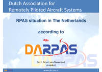 12. DARPAS – Netherlands – RPAS situation in The Netherlands, by Ir. Robert van Nieuwland