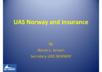 15. UAS Norway – Norway – Insurance, by Narve L. Jensen