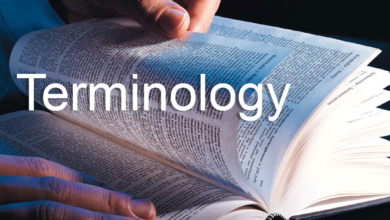Terminology & Classification